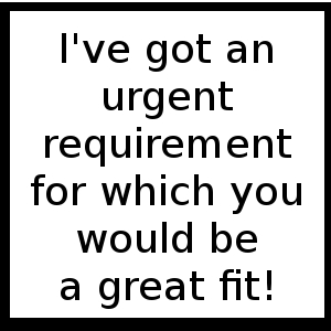UrgentRequirement