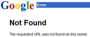 GoogleNotFound